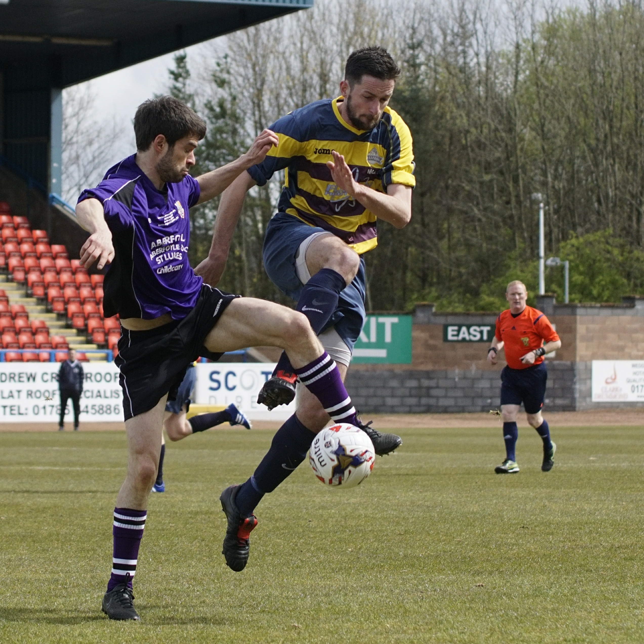 Innovatus Sports Scottish Amateur Sunday Trophy Fi