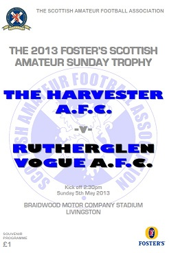 The Foster's Scottish Amateur Sunday Trophy Programme available to view