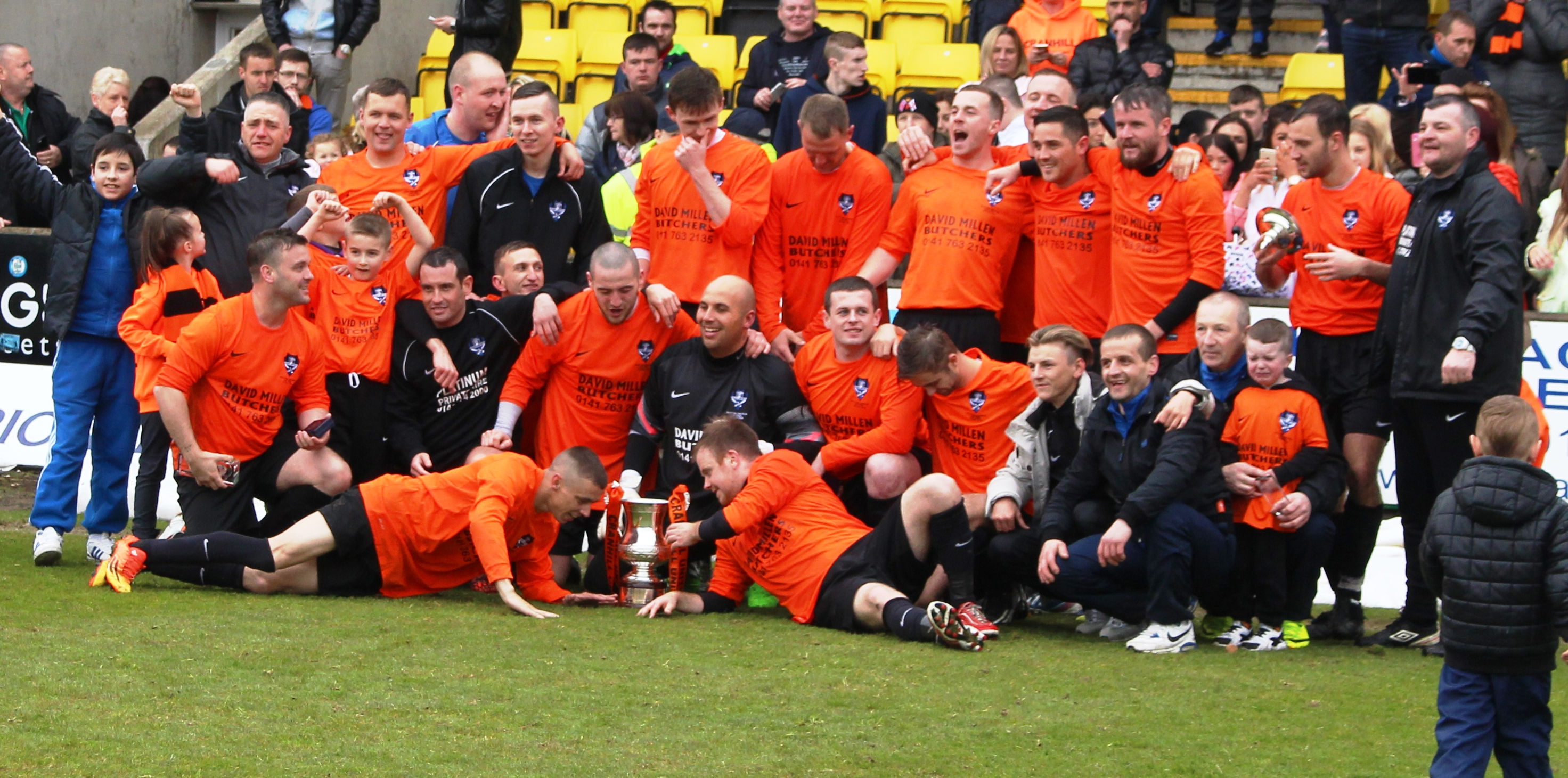 Cranhill United claim Sunday Trophy 2015
