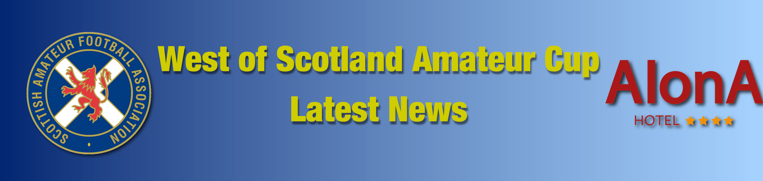 Alona Hotel West of Scotland Amateur Cup Draw News