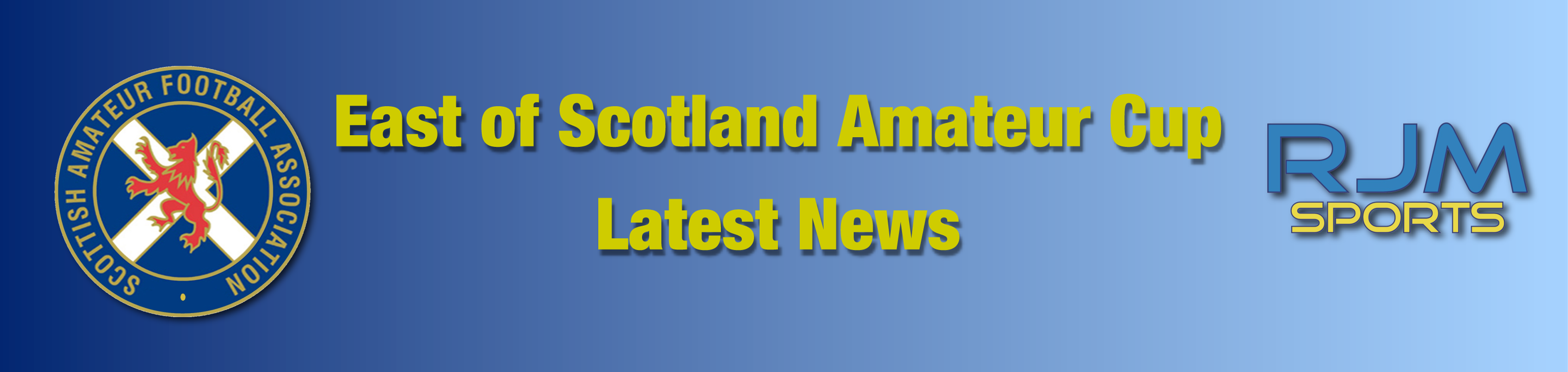 RJM Sports East of Scotland Amateur Cup Draw News