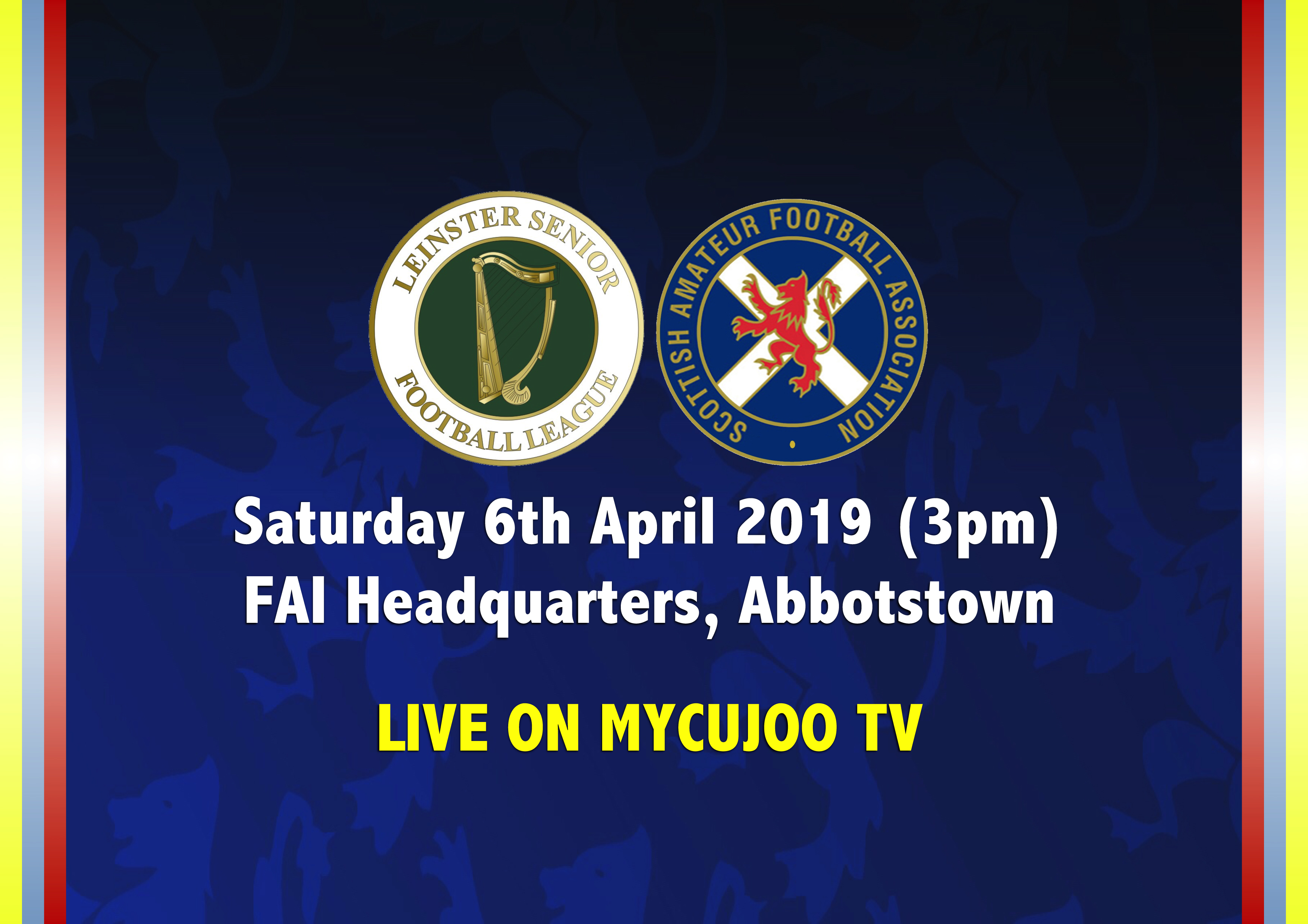 <a href='/newsdetail/ID/616'> Leinster Senior League vs SAFA Select - Sat, Apr 6, 2019 3:00 PM</a>