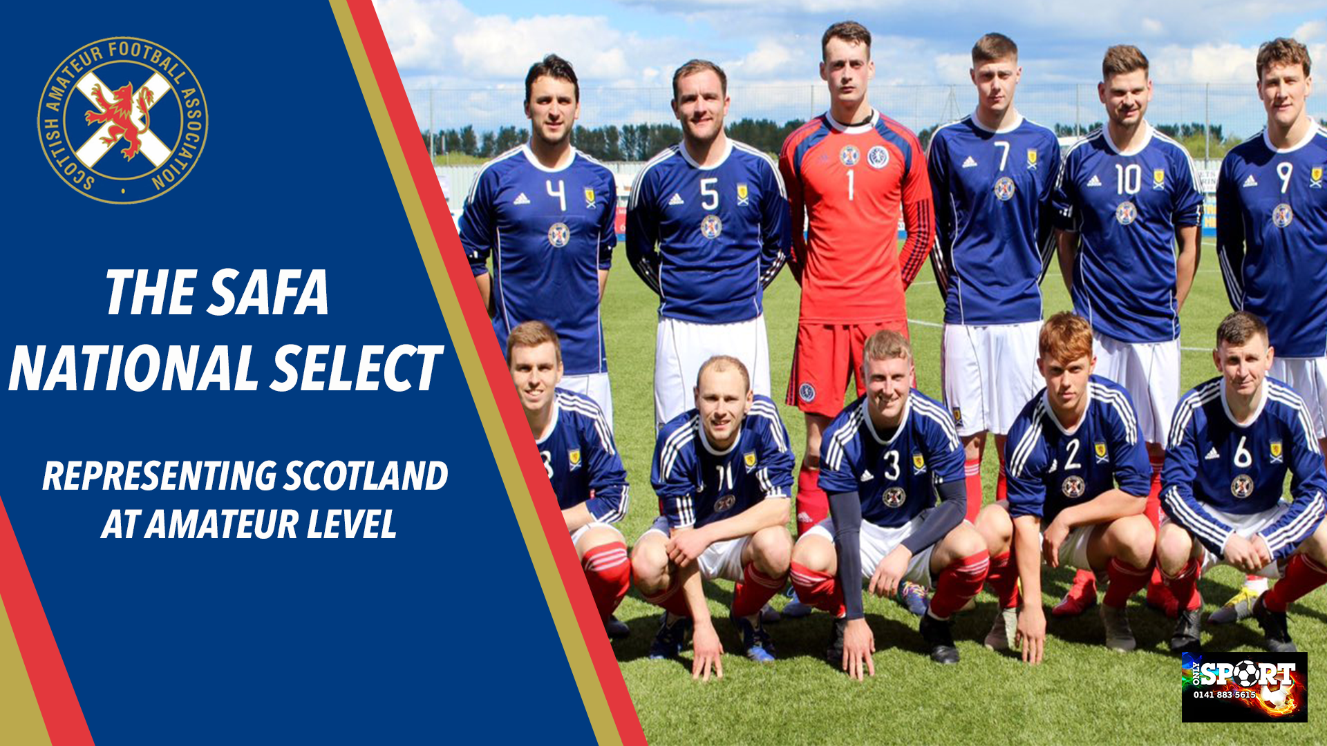 The SAFA National Select | Representing Scotland at Amateur Level