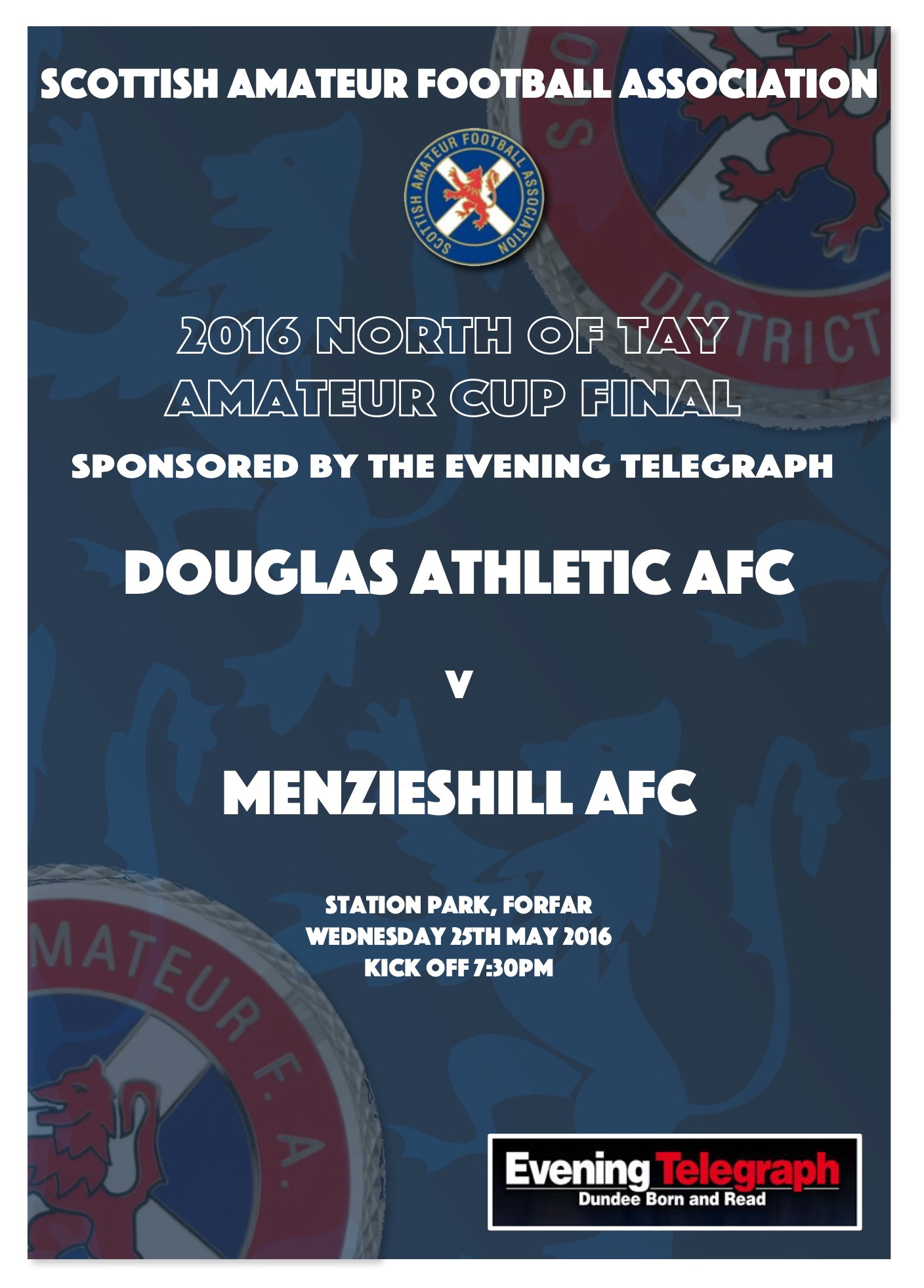 North of Tay Amateur Cup Final 2016