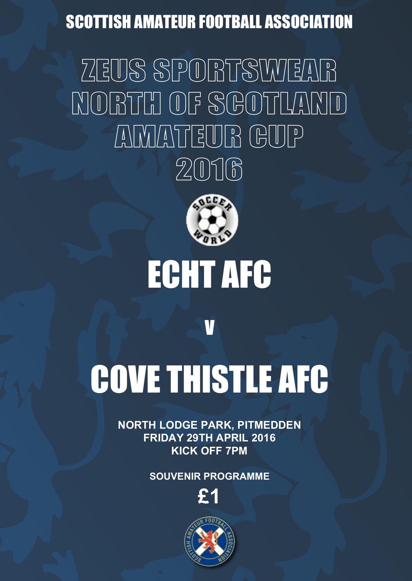 North of Scotland Amateur Cup Final 2016