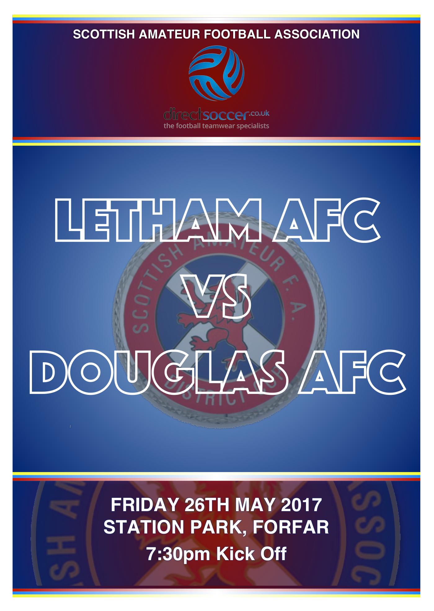 North of Tay Amateur Cup Final 2017