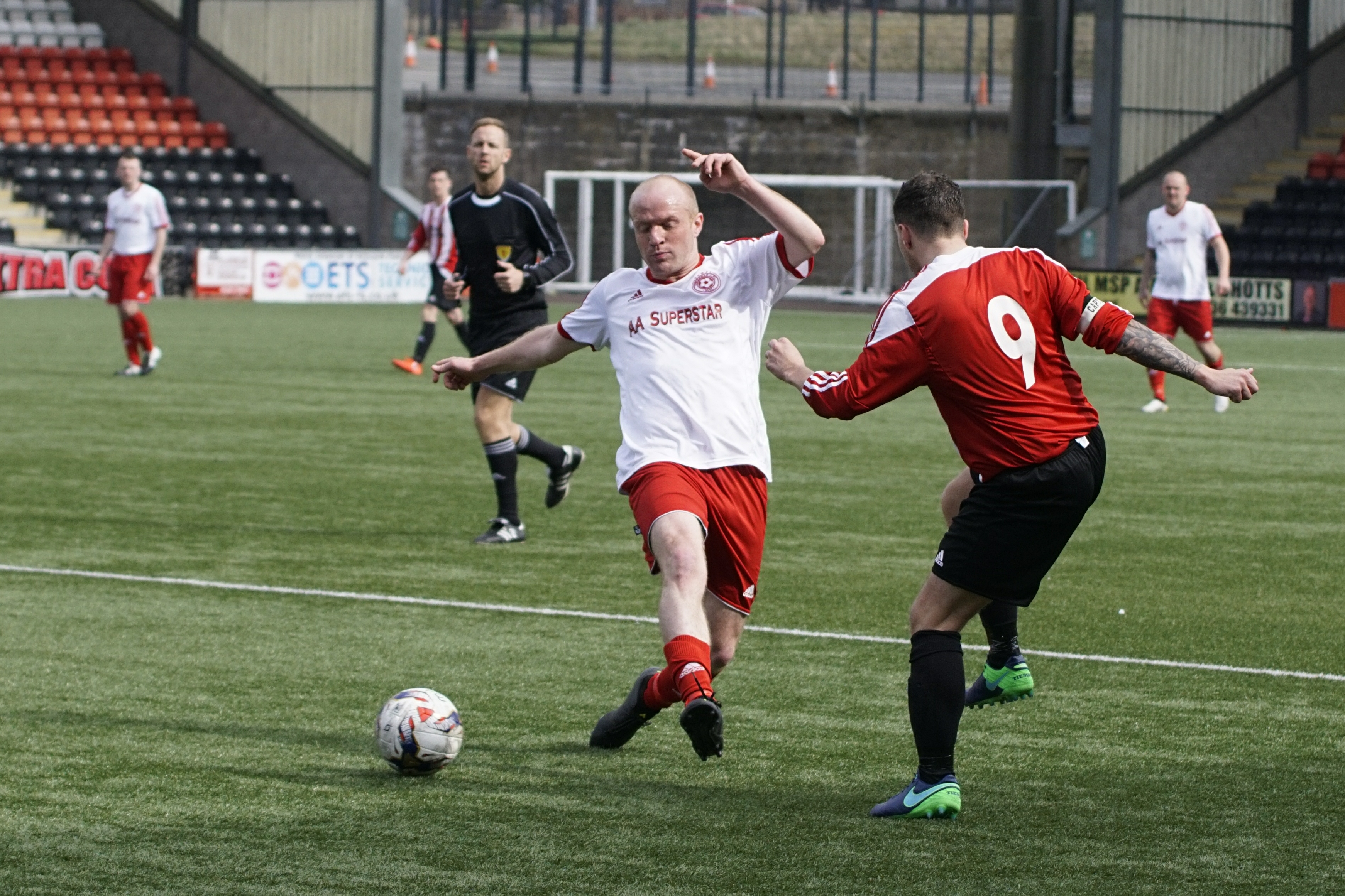 RJM Sports Sunday Trophy Semi-Final (2nd Half) Dundee Argyle AFC v Dykehead AFC